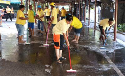 """""""ซีพี ออลล์"""" จัดกิจกรรม Big Cleaning Day ในโครงการ Our Khung บางกะเจ้า"""