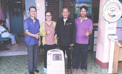 รพ.ชานุมาน จ.อำนาจเจริญ ขอบคุณซีพี ออลล์ ที่สบทบทุนจัดซื้อคุรุภัณฑ์ทางการแพทย์